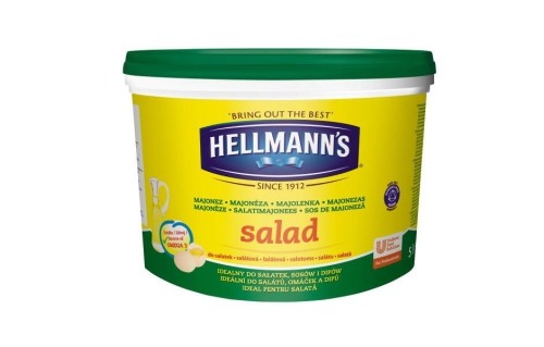 Hellmanns šalátová majonéza 5 kg 940x600