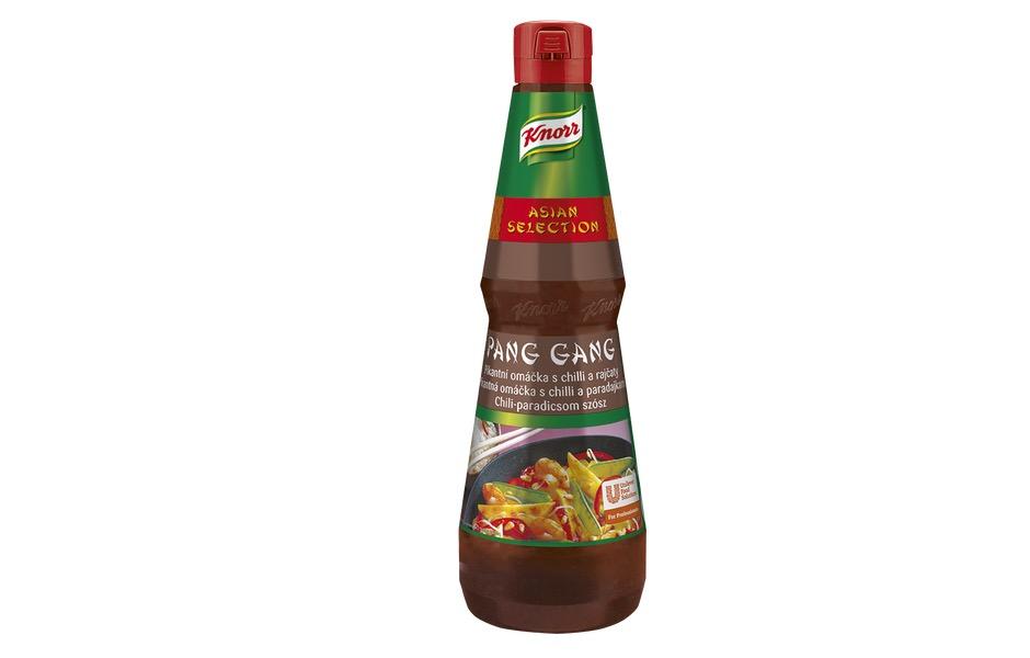 KNORR Pang Gang Omáčka chilli a rajčata 1 litr
